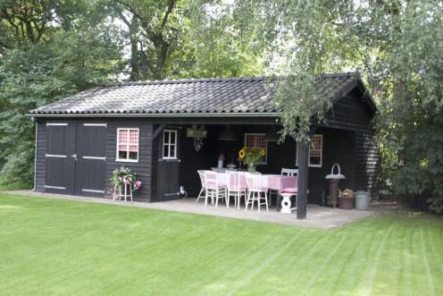 Tuinhuisje met terras G
