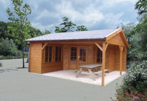 Tuinhuisje met terras H